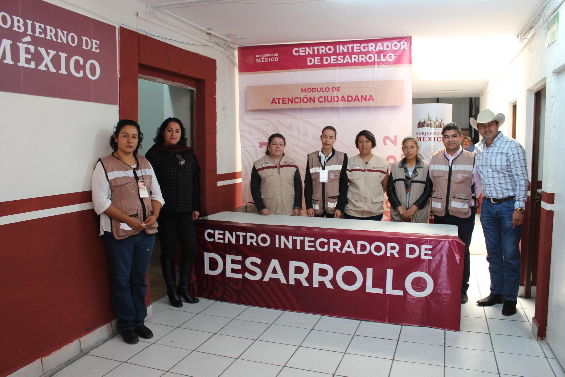 Inauguran oficinas del Centro Integrador de Bienestar