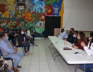 Comisión de Salud en coordinación con Sector Salud se reúnen con representantes de los diferentes sectores comerciales del municipio