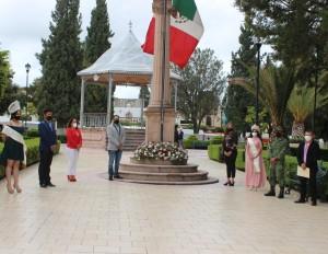 Autoridades Municipales conmemoran Gesta Heroica de los Niños Héroes
