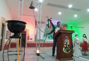 Autoridades Municipales conmemoran el 210 Aniversario del Inicio del Movimiento de Independencia de México en el municipio