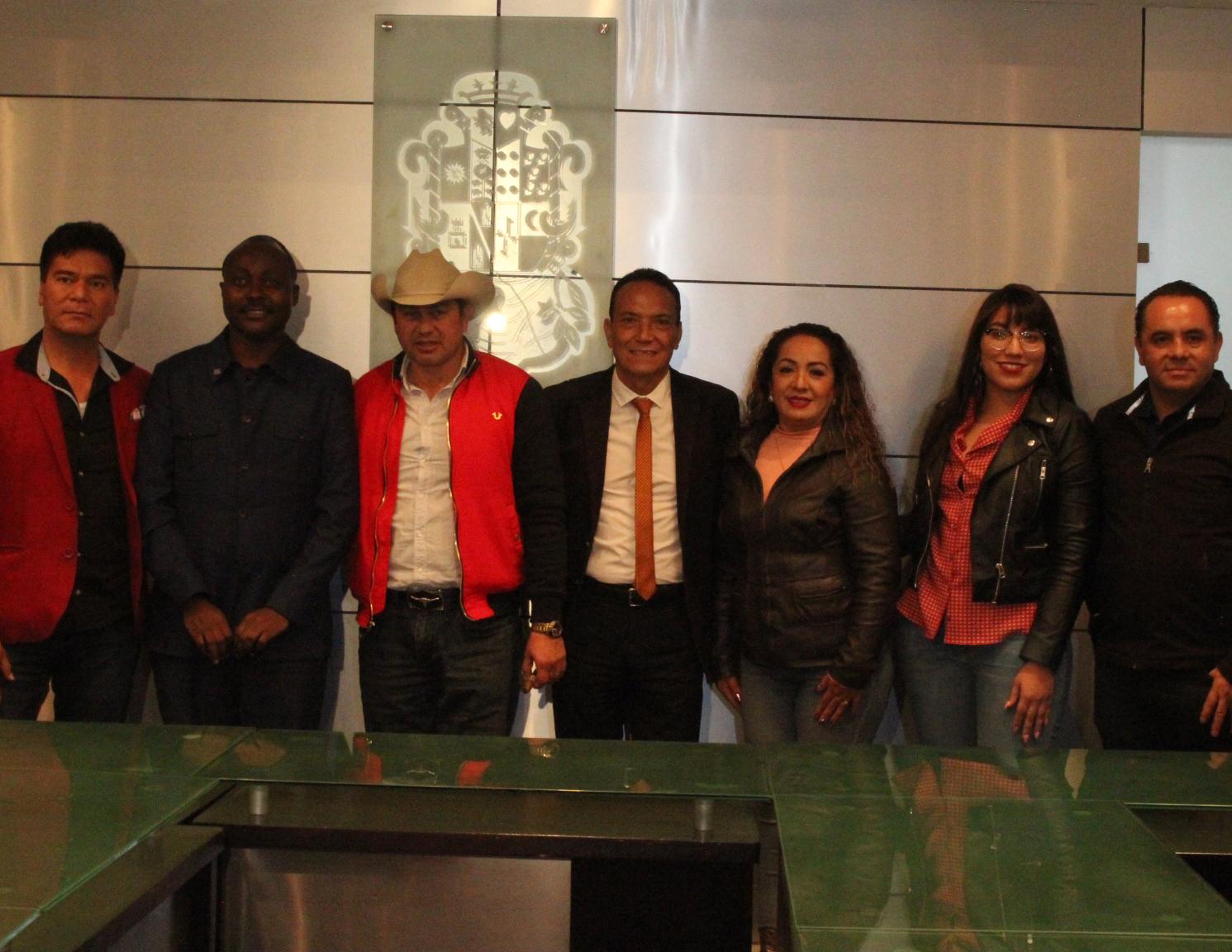 Gobierno municipal en conjunto con Buró de Turismo de México estrechan lazos con el embajador del Congo.