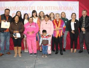 Conmemoran Día internacional de la Mujer